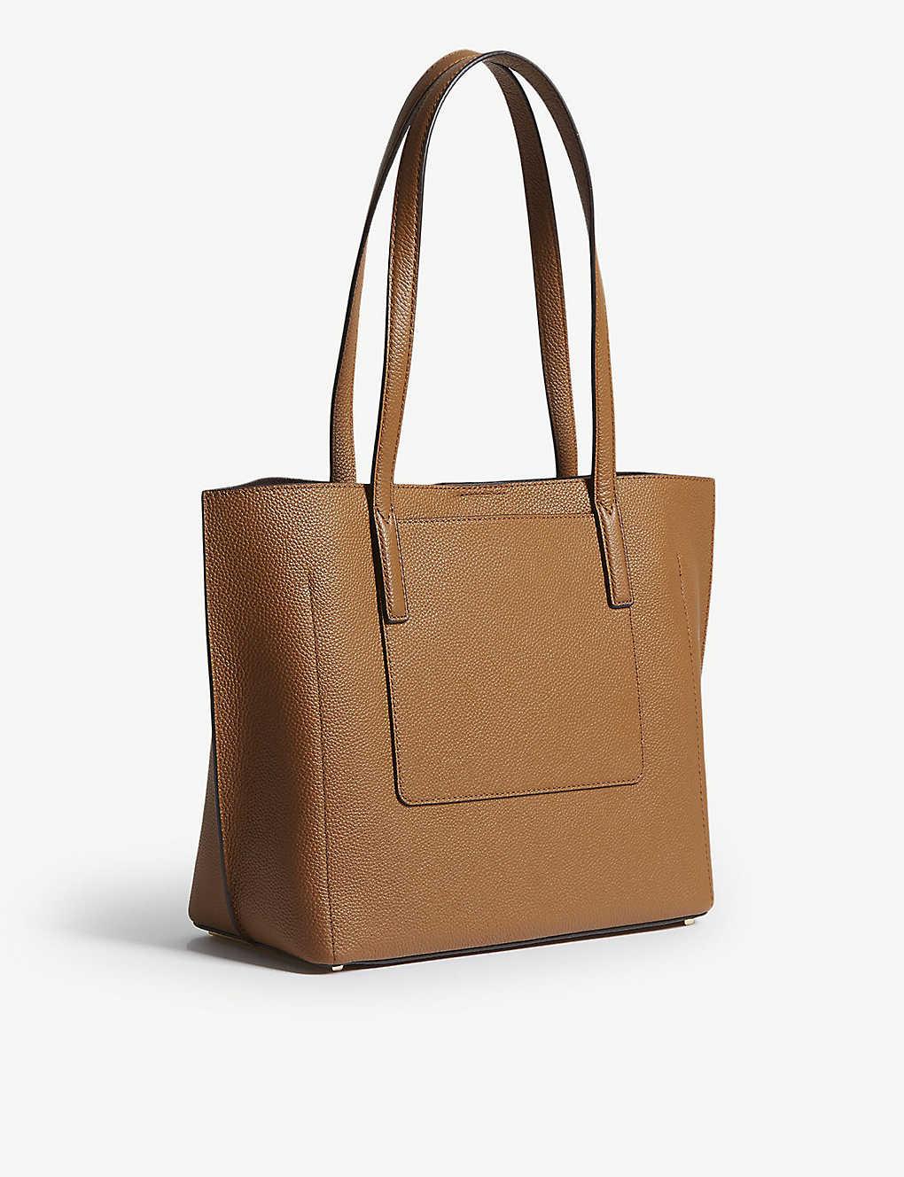 7c579e20c7e4 MICHAEL MICHAEL KORS - Ana bonded medium grained leather tote ...