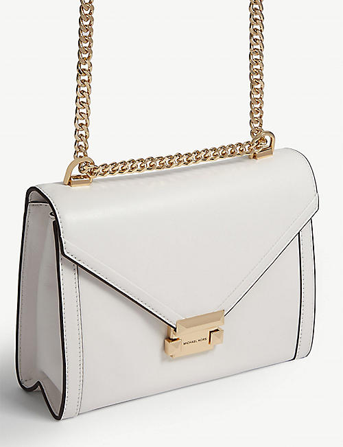 MICHAEL MICHAEL KORS Whitney small leather shoulder bag