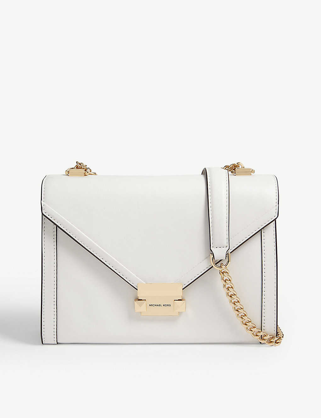 MICHAEL MICHAEL KORS: Whitney small leather shoulder bag