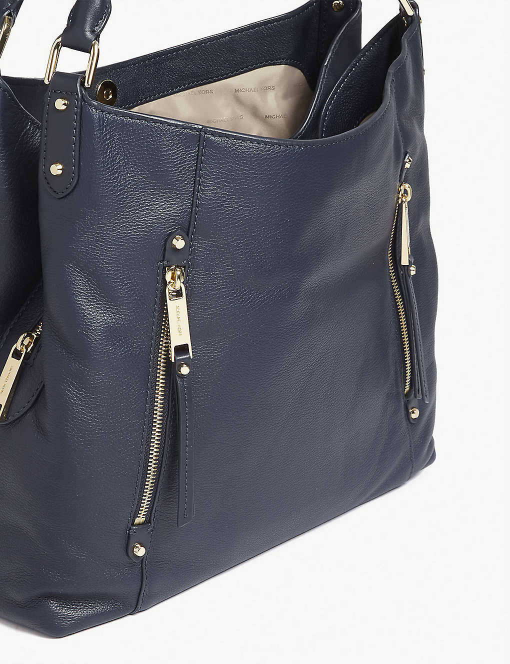 5f8fc2b4b58 MICHAEL MICHAEL KORS - Evie large leather shoulder tote | Selfridges.com
