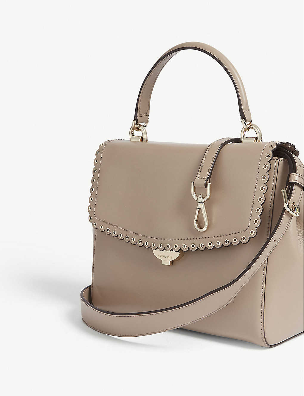 cc90d5fb9f28 MICHAEL MICHAEL KORS - Ava medium scalloped leather shoulder bag ...