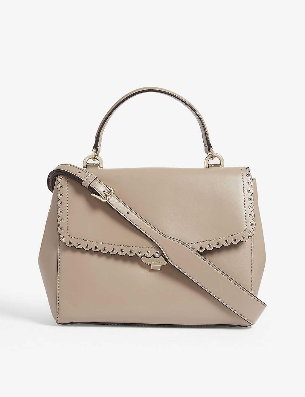 ab8f4d3d6131 MICHAEL MICHAEL KORS - Ava medium scalloped leather shoulder bag ...