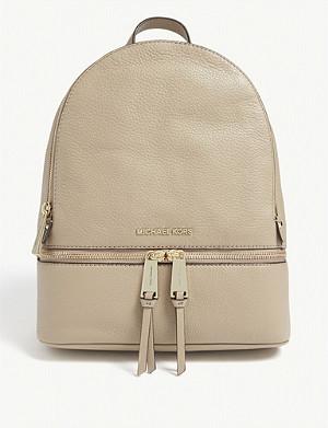 8432cc307fb0 MICHAEL MICHAEL KORS - Rhea medium leather backpack