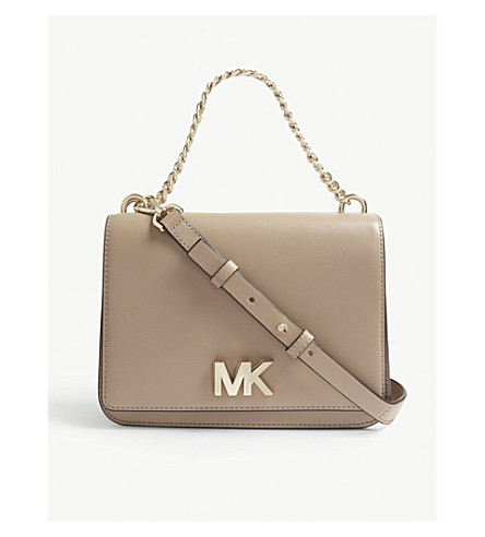163803c11068 MICHAEL MICHAEL KORS - Mott leather shoulder bag   Selfridges.com