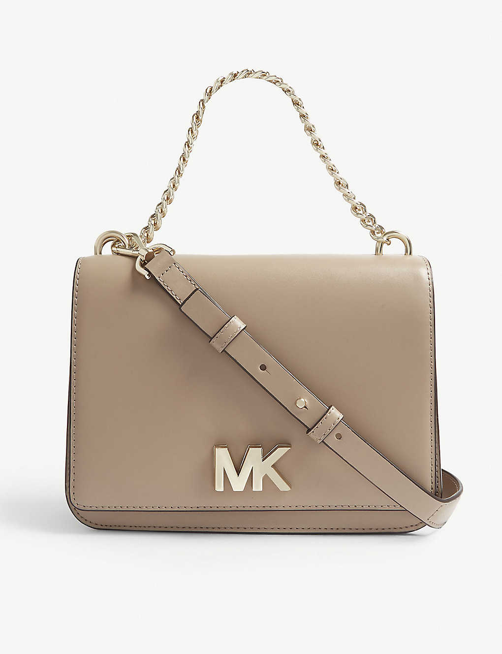 cf4e0efb57ac MICHAEL MICHAEL KORS - Mott leather shoulder bag