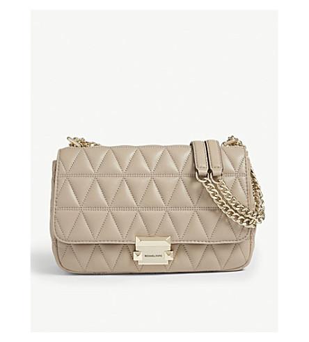 5c96247a4312 MICHAEL MICHAEL KORS Sloan large quilted shoulder bag (Truffle