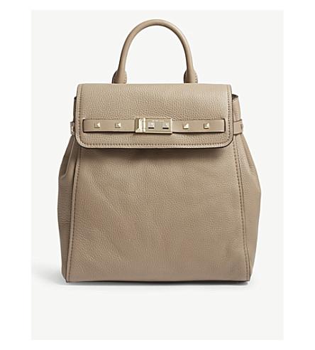 50650837883f ... MICHAEL MICHAEL KORS Addison medium leather backpack (Truffle.  PreviousNext
