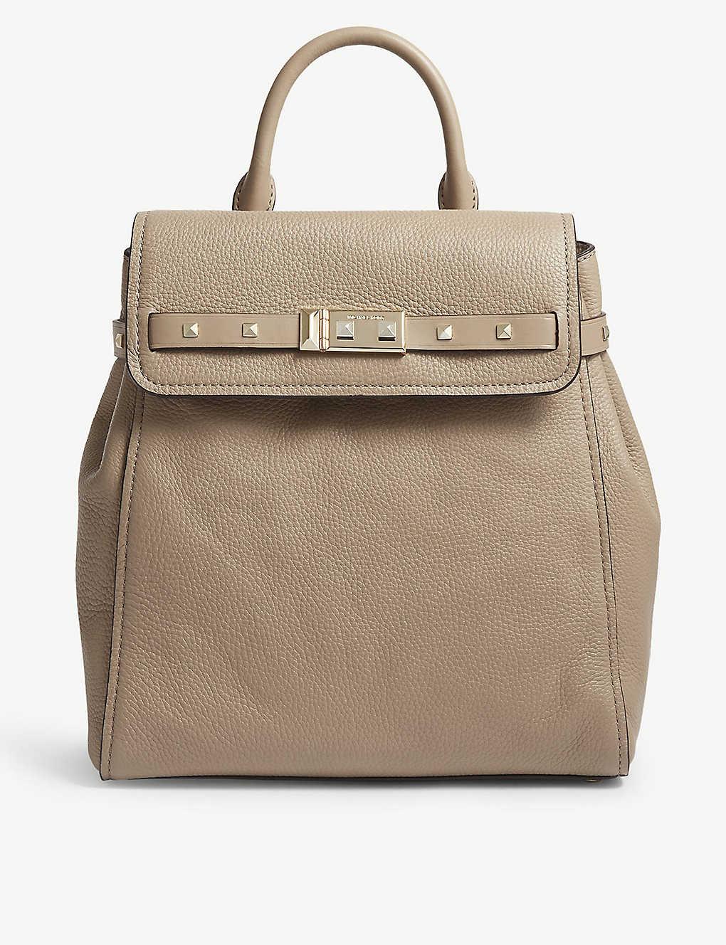 70e2b8a257e4 MICHAEL MICHAEL KORS - Addison medium leather backpack | Selfridges.com