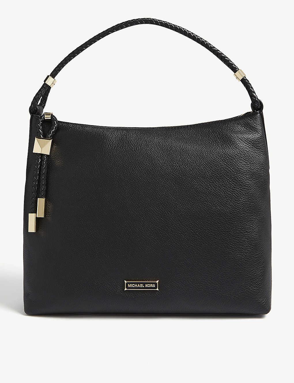 79a975a1c8a50d MICHAEL MICHAEL KORS - Lexington pebbled leather shoulder bag ...
