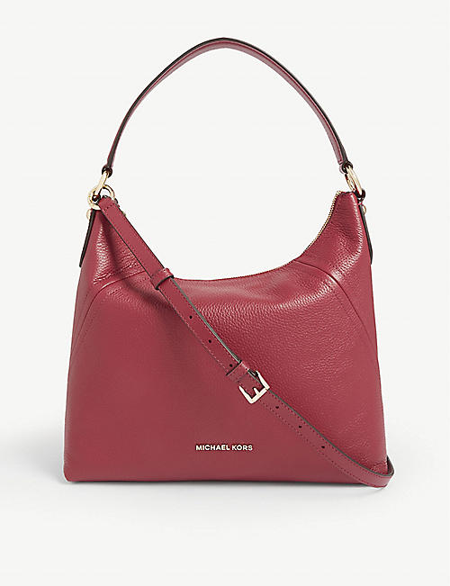 MICHAEL MICHAEL KORS Leather Aria shoulder bag
