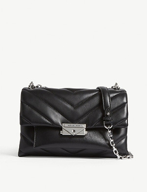 b0707fb1be5e MICHAEL MICHAEL KORS - Selma medium Saffiano leather satchel ...
