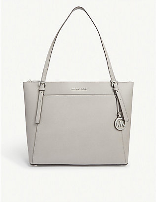 MICHAEL MICHAEL KORS: Voyager large leather tote bag