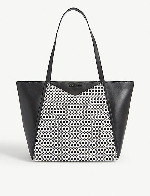 MICHAEL MICHAEL KORS Whitney leather tote bag