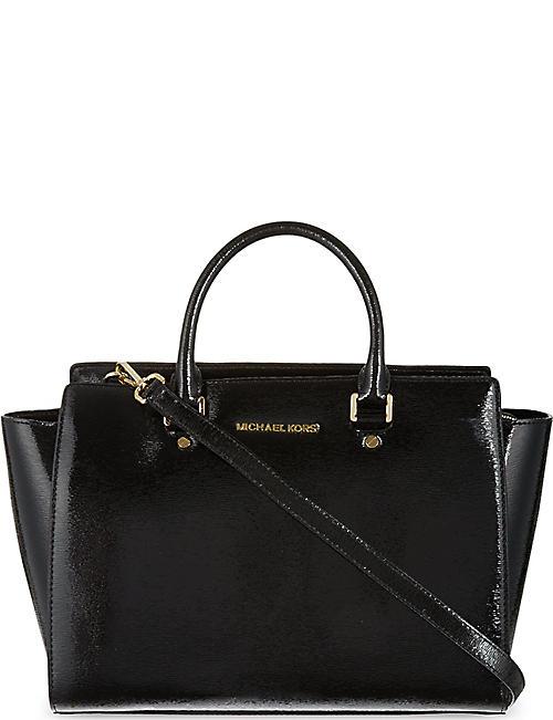 4d86d3051770 MICHAEL MICHAEL KORS Selma large Saffiano leather satchel