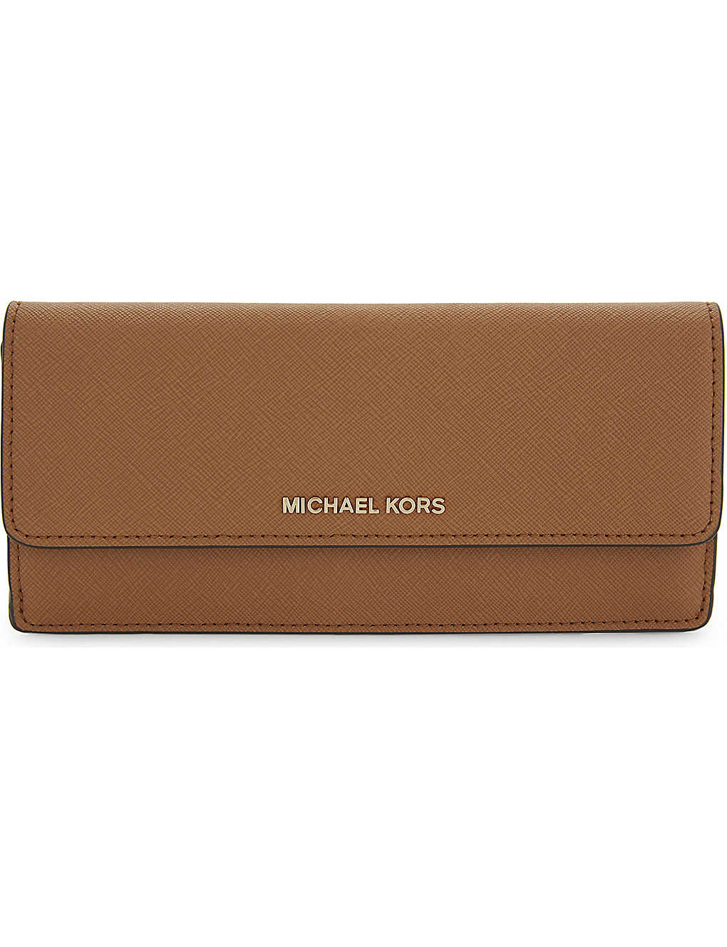 c0176a86dda1 MICHAEL MICHAEL KORS - Jet Set Saffiano leather wallet | Selfridges.com