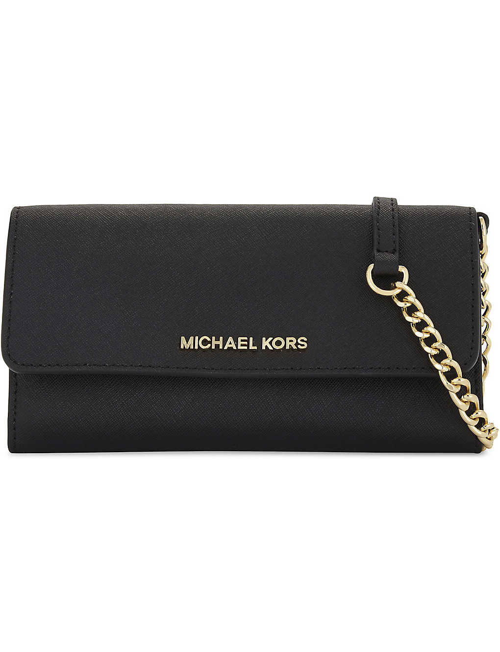 91e537617c90 MICHAEL MICHAEL KORS - Jet Set Travel wallet on a chain | Selfridges.com