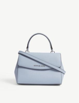 8a08142069a3 MICHAEL MICHAEL KORS - Ava extra-small Saffiano leather cross-body bag    Selfridges.com