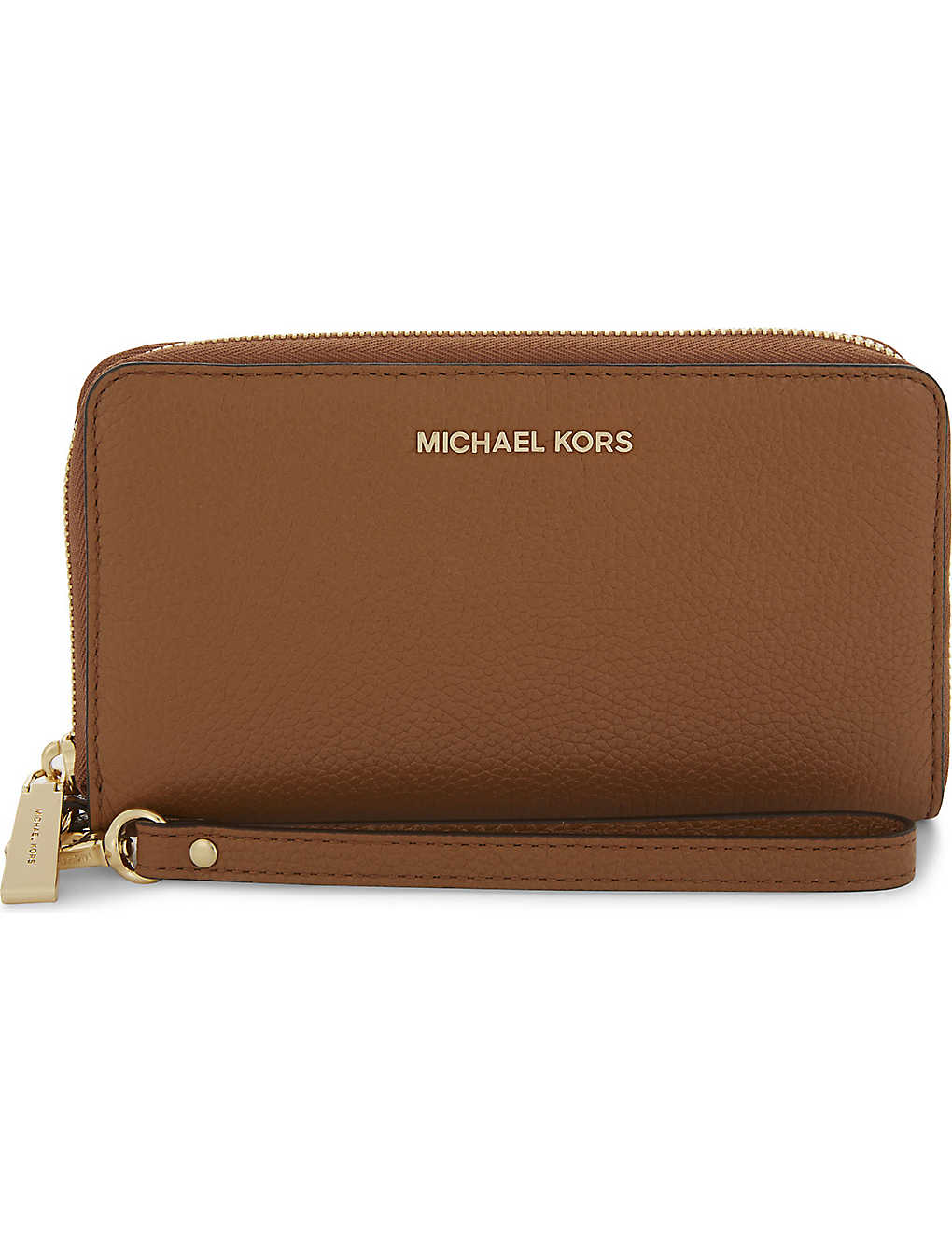 ff74772cc6d5 MICHAEL MICHAEL KORS Mercer large grained leather multi-function wallet