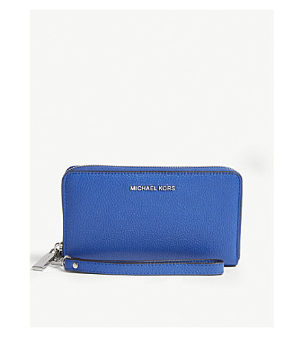 47885206ff19 MICHAEL MICHAEL KORS - Mercer large leather wallet | Selfridges.com