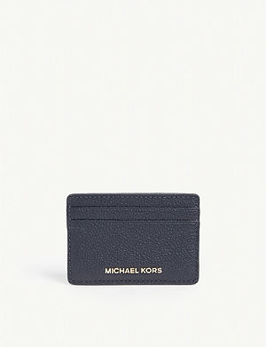 a346b1d793e0 MICHAEL MICHAEL KORS - Money Pieces Saffiano leather zipped card ...
