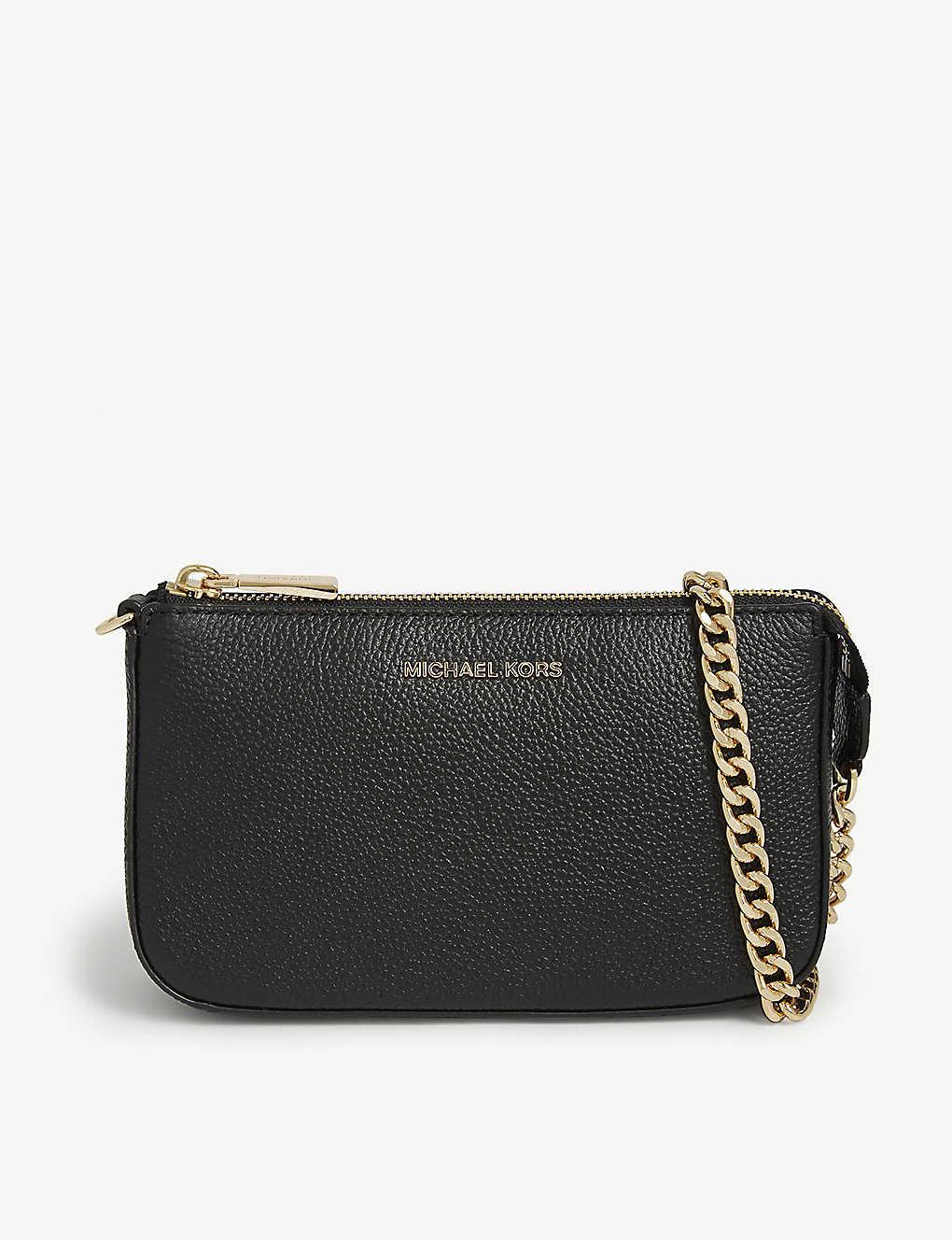 c3bcb7202b01ae MICHAEL MICHAEL KORS - Textured leather chain wallet | Selfridges.com