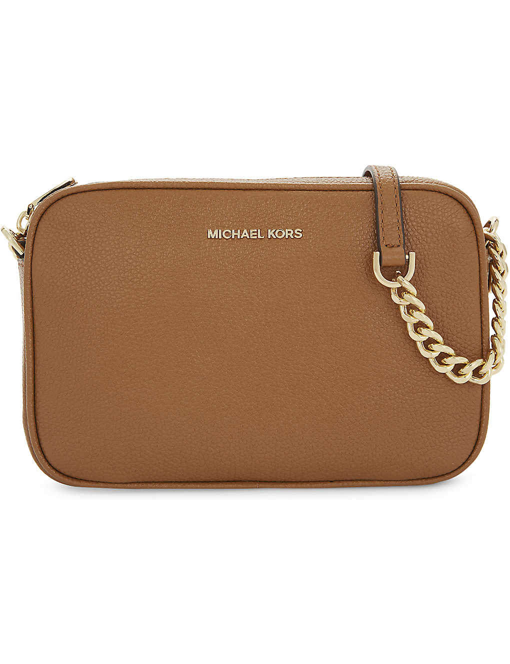 b0d3b249e52e MICHAEL MICHAEL KORS - Ginny leather cross-body bag | Selfridges.com