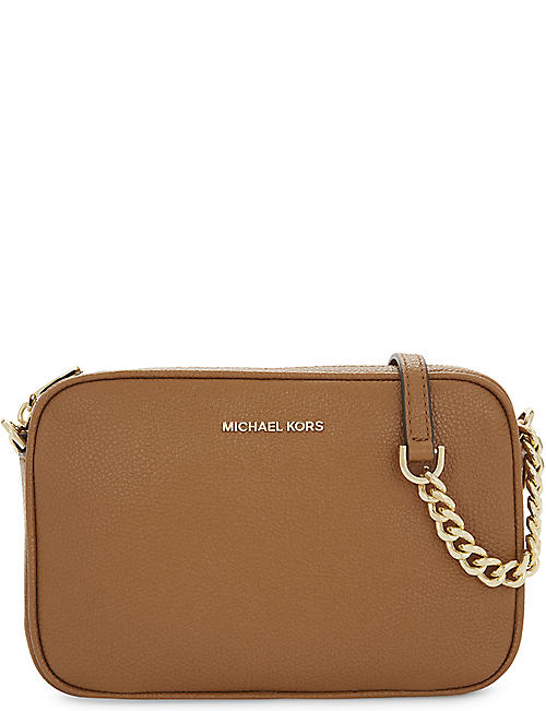 933538748953 MICHAEL MICHAEL KORS Ginny leather cross-body bag