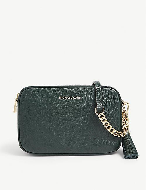7256263da75b MICHAEL MICHAEL KORS Ginny leather cross-body bag
