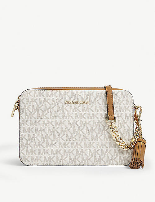 35c18c06496d MICHAEL MICHAEL KORS Ginny monogram print cross-body bag