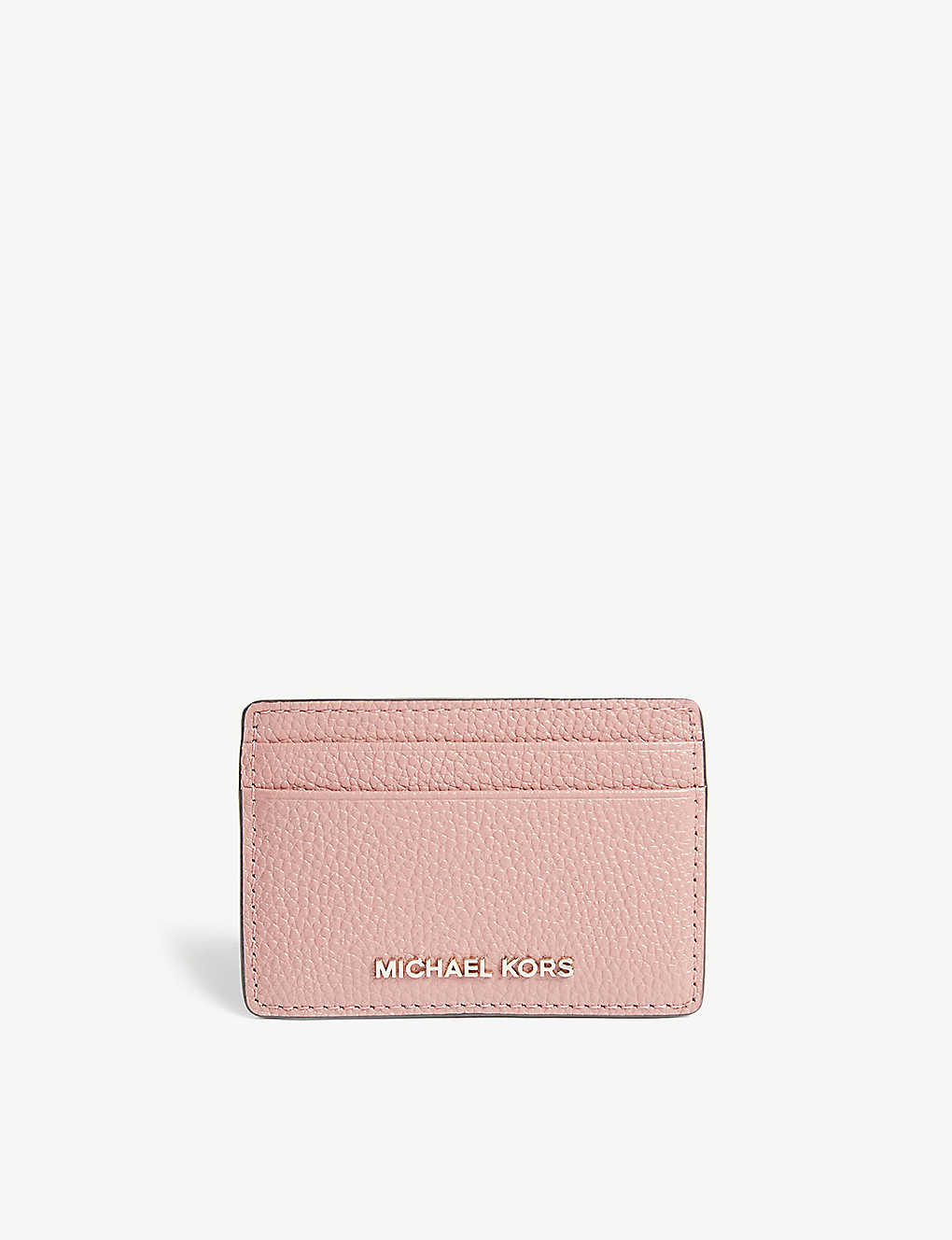 6b7fddbcb517 MICHAEL MICHAEL KORS - Pebbled leather card holder | Selfridges.com