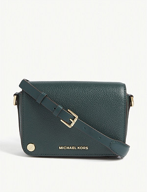MICHAEL MICHAEL KORS Jet Set small leather cross-body bag