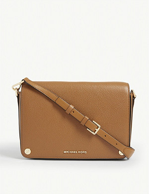 MICHAEL MICHAEL KORS Jet Set large leather cross-body bag