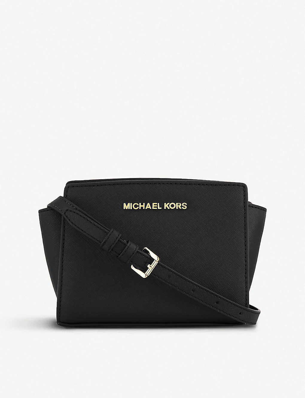 253d70eb908f61 MICHAEL MICHAEL KORS - Selma mini cross-body satchel | Selfridges.com