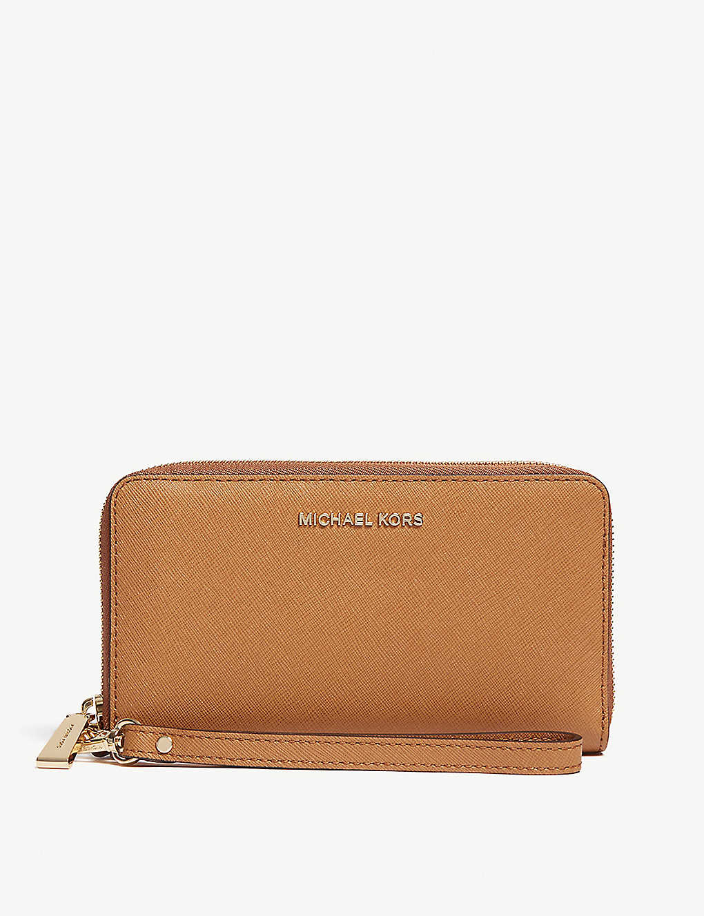 4e223d6ce71bc9 MICHAEL MICHAEL KORS - Leather wristlet | Selfridges.com