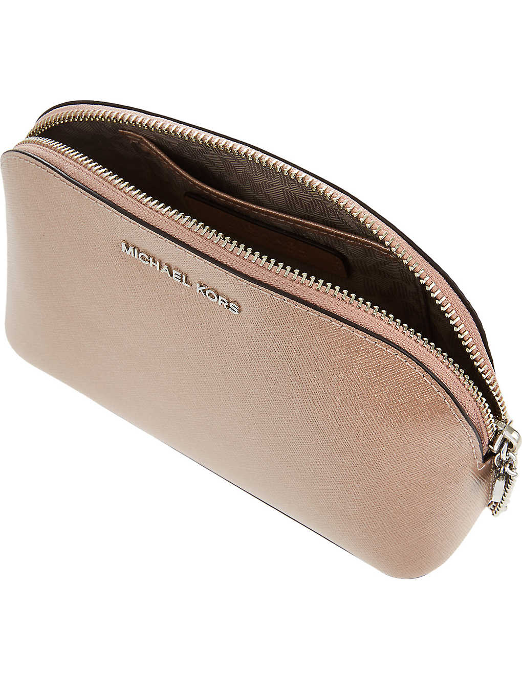 fa89cd277b5c96 MICHAEL MICHAEL KORS - Alex saffiano leather travel pouch ...