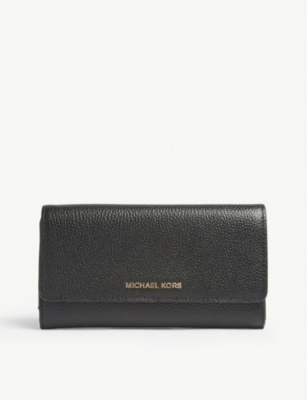 MICHAEL MICHAEL KORS Mercer leather tri-fold wallet