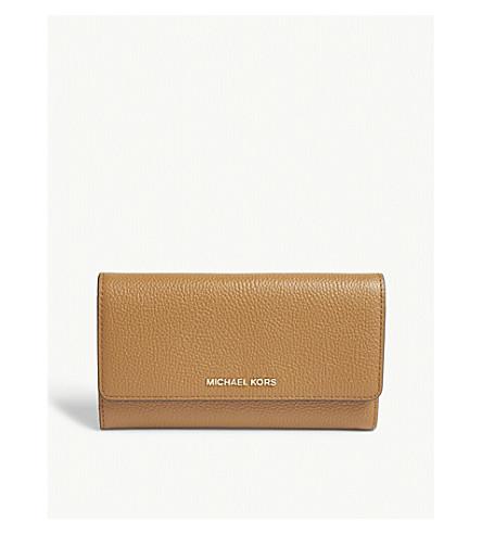 0b206f2256cd0 MICHAEL MICHAEL KORS - Mercer leather tri-fold wallet
