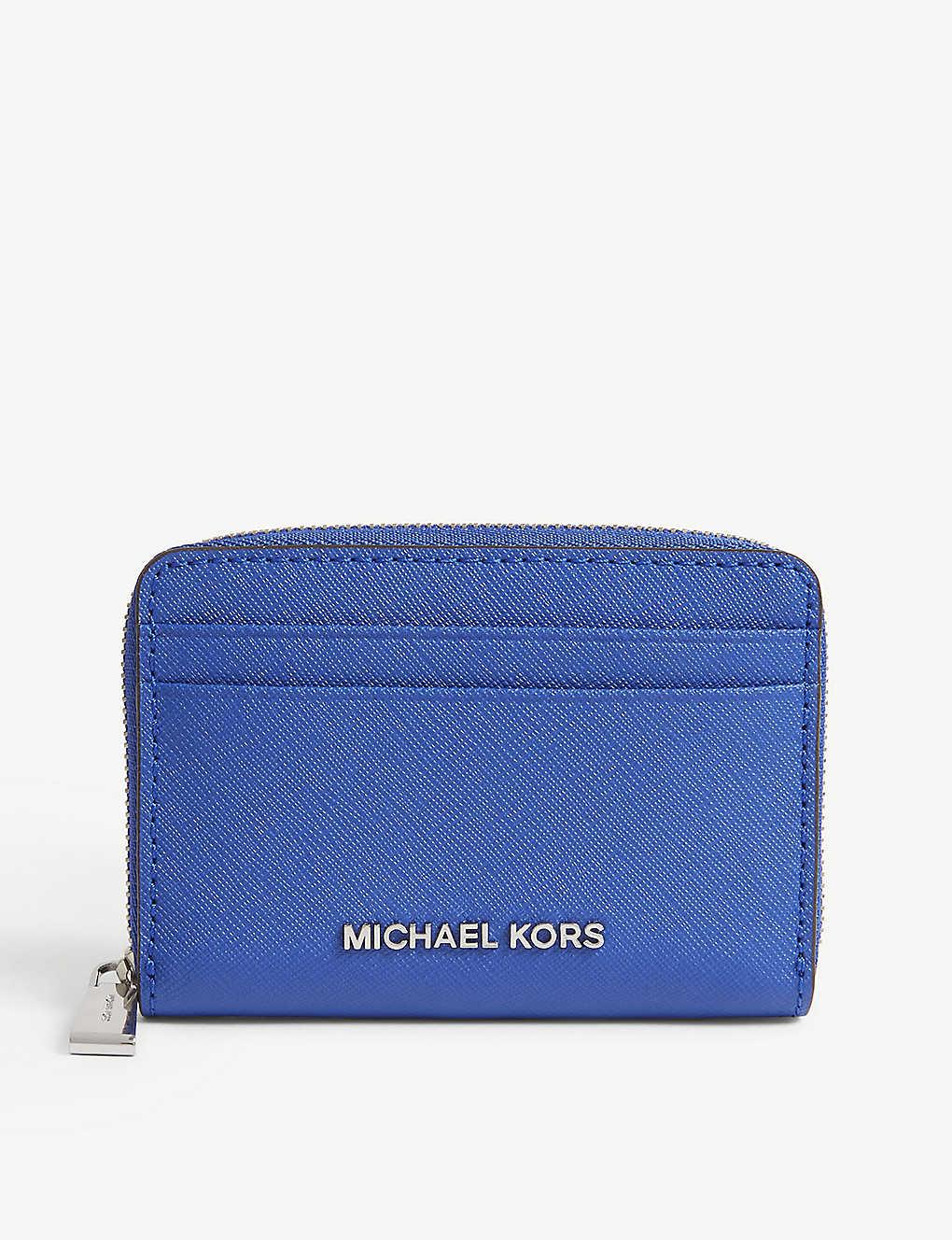 new concept 9a8d7 4d07d MICHAEL MICHAEL KORS - Money Pieces Saffiano leather zipped card ...