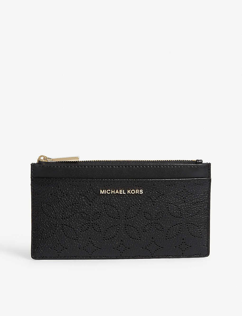 4924b990fc4a MICHAEL MICHAEL KORS - Floral pattern leather purse | Selfridges.com