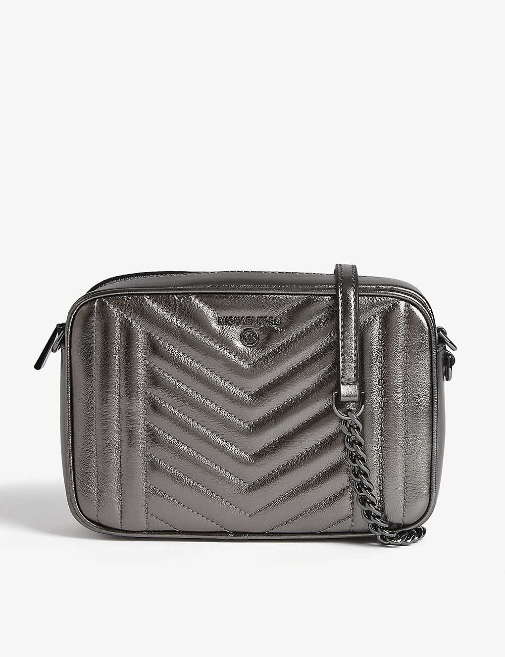 MICHAEL MICHAEL KORS: Quilted Jet Set camera bag