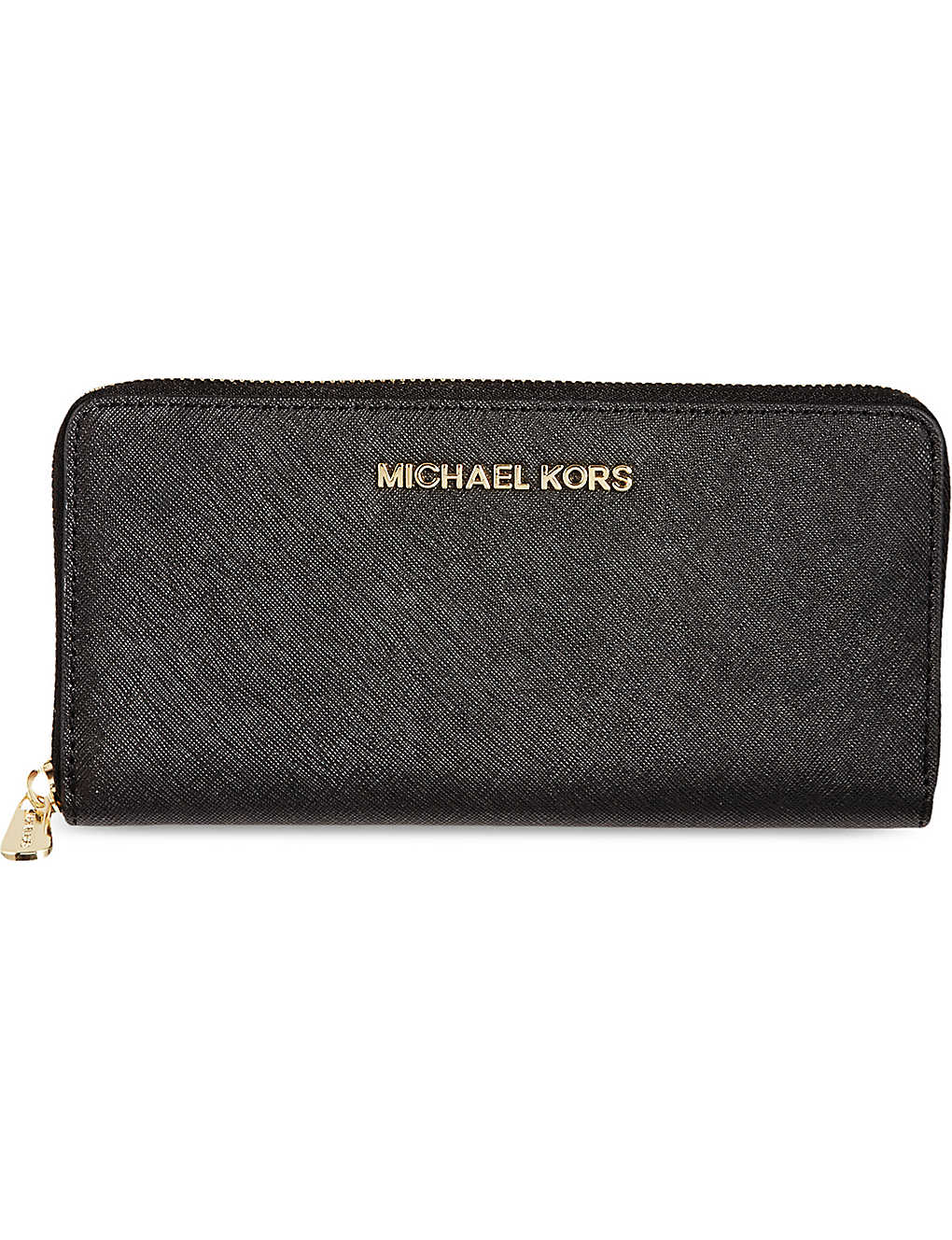 56d1019201d0 MICHAEL MICHAEL KORS - Jet Set saffiano leather wallet | Selfridges.com
