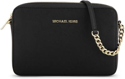 1b59be383d13 MICHAEL MICHAEL KORS - Jet Set saffiano leather cross-body bag ...