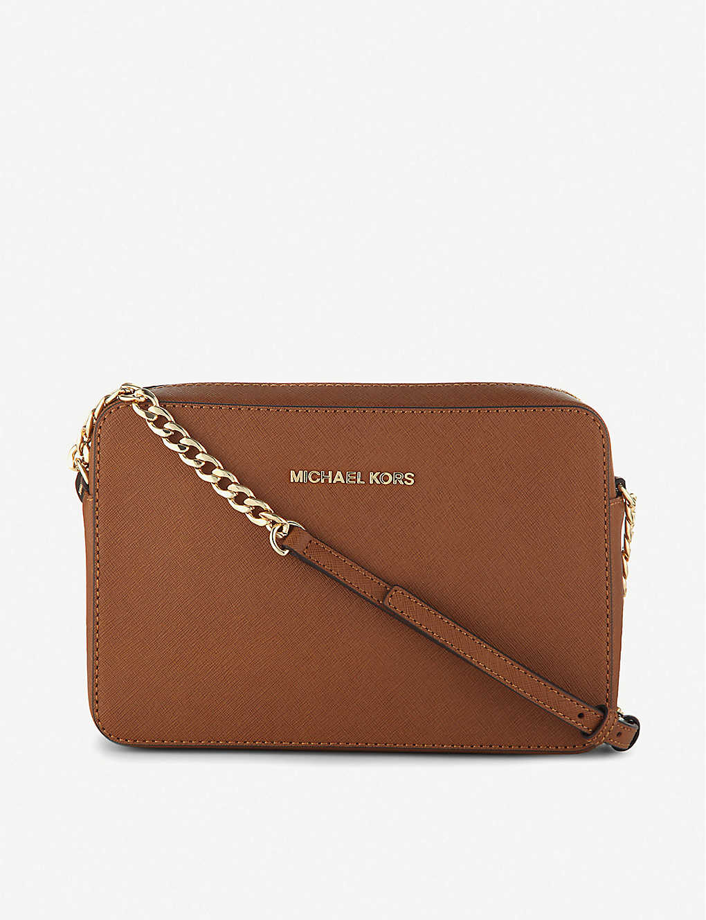 2b343dd38b6e MICHAEL MICHAEL KORS - Saffiano leather cross-body bag | Selfridges.com