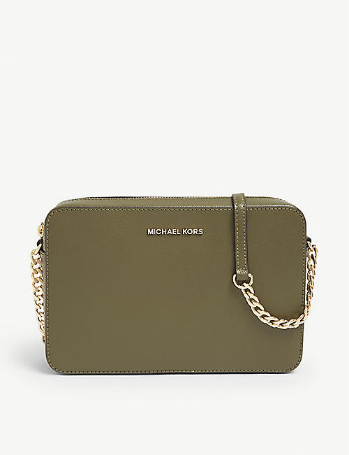 1930429a98b5 MICHAEL MICHAEL KORS Leather cross-body bag