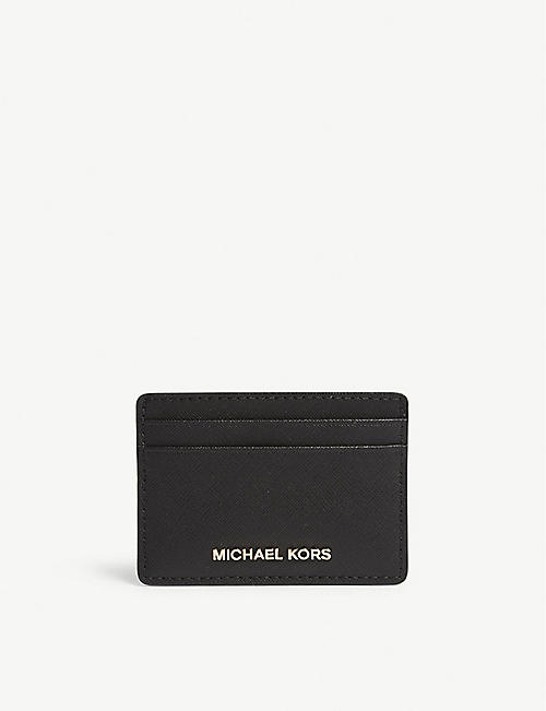 f95a0c4e31bb MICHAEL MICHAEL KORS - Money Pieces saffiano leather card holder ...