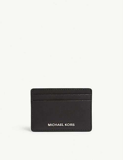 9e5f743a6fec6 MICHAEL MICHAEL KORS - Money Pieces saffiano leather card holder ...