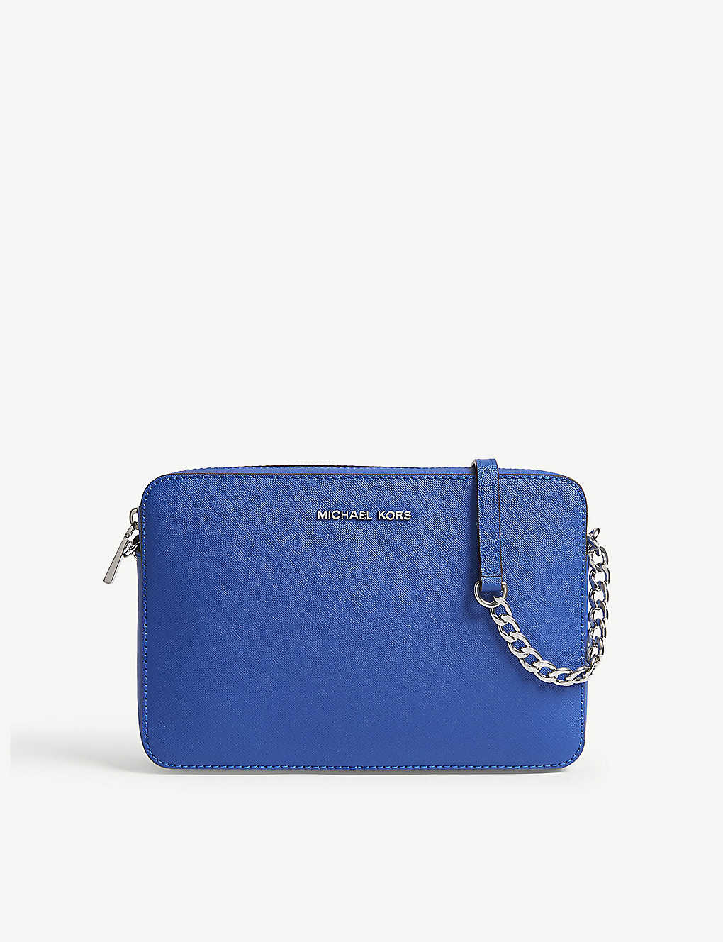 40d88a728488 MICHAEL MICHAEL KORS - Jet Set Travel leather cross-body bag ...