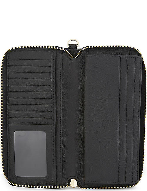 ea065c147bca MICHAEL MICHAEL KORS Jet Set Travel leather continental zip-around wallet
