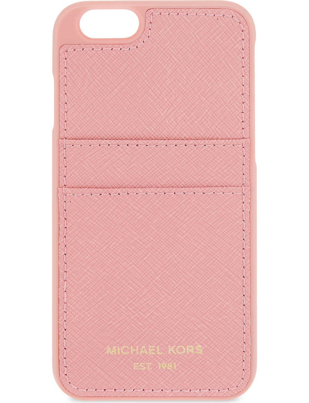 uk availability 0beb6 a96f7 MICHAEL MICHAEL KORS - Textured iPhone 6/6s card holder case ...