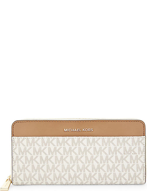 MICHAEL MICHAEL KORS Money Pieces leather continental wallet